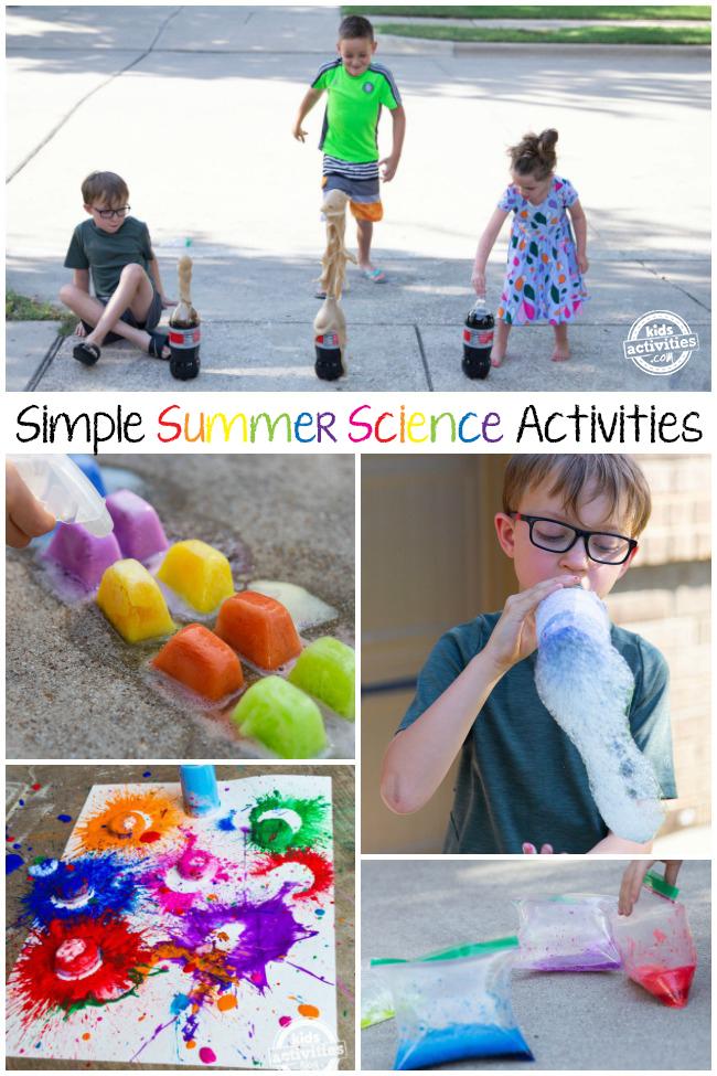 Fun Summer Science Activities for Kids