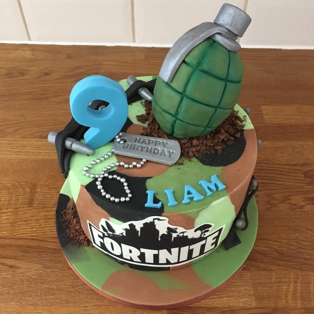 Fortnite Cake camo