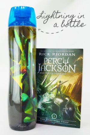 Lightning in a Bottle - Percy Jackson Craft