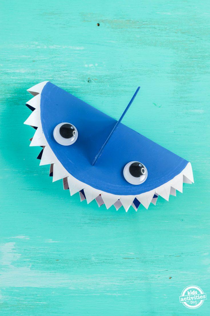 Shark Paper Plate