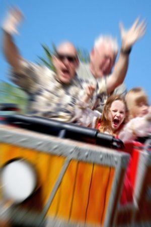 Amusement parks for traveling together