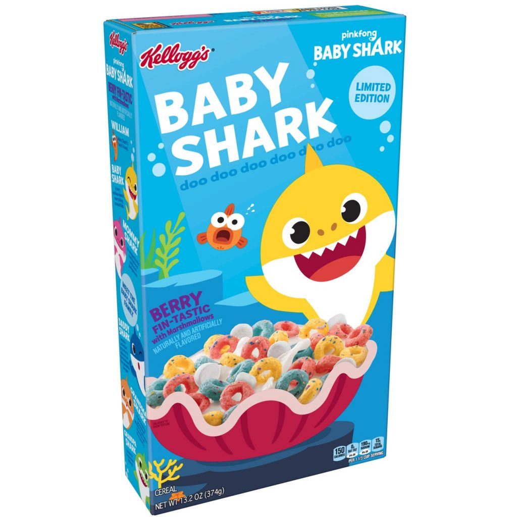 Baby Shark Cereal Is Being Released For The Most Fin