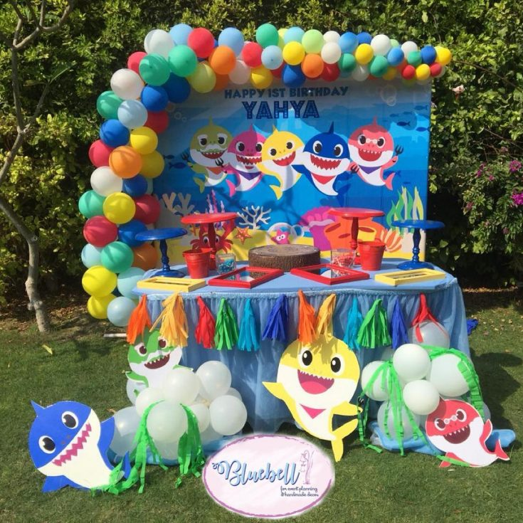 Baby Shark Party Ideas How To Throw A Baby Shark Party
