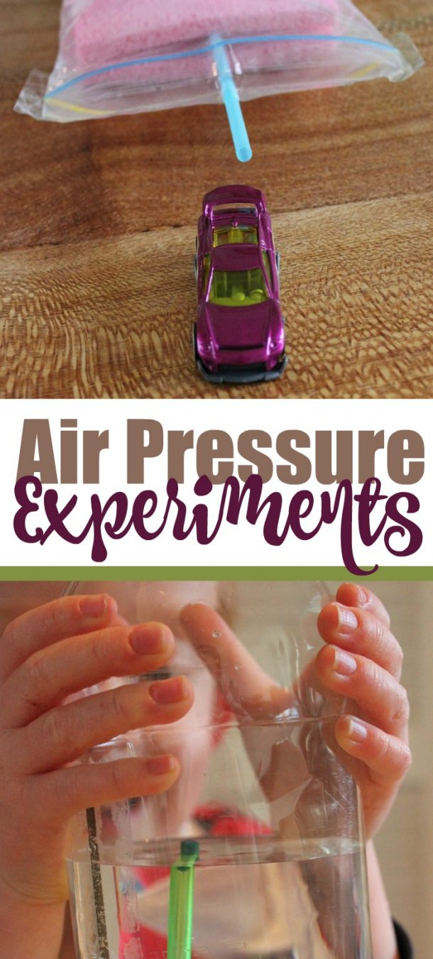 Air Pressure Experiments for Kids - Kids Activities Blog