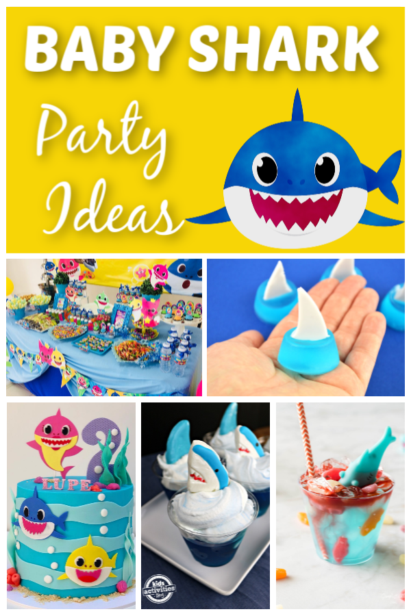 Baby Shark Party Ideas - How to Throw A