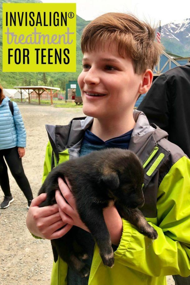 Registered Invisalign Treatment for Teens - Rhett dog Alaska