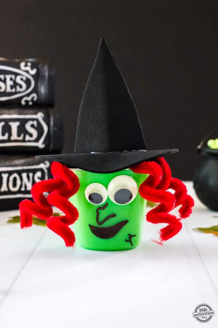 Witch Pudding Cups (With Video)