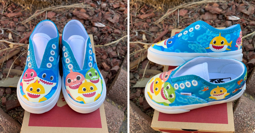 693085f0ee8c1 Baby Shark Shoes Are Here!