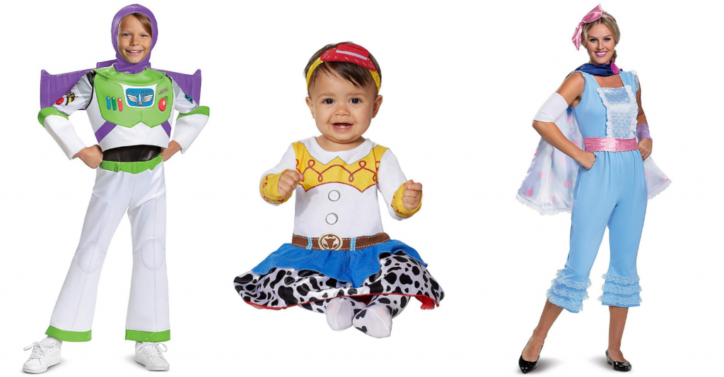 Toy Story 4 Halloween Costumes.New Toy Story Halloween Costumes Have Been Released