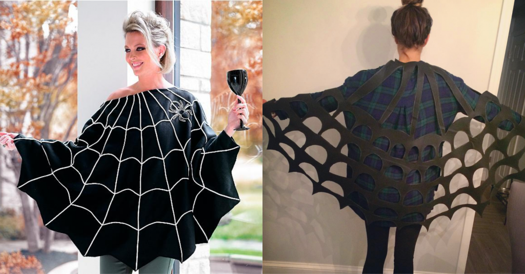 Spider Web Cape Adult