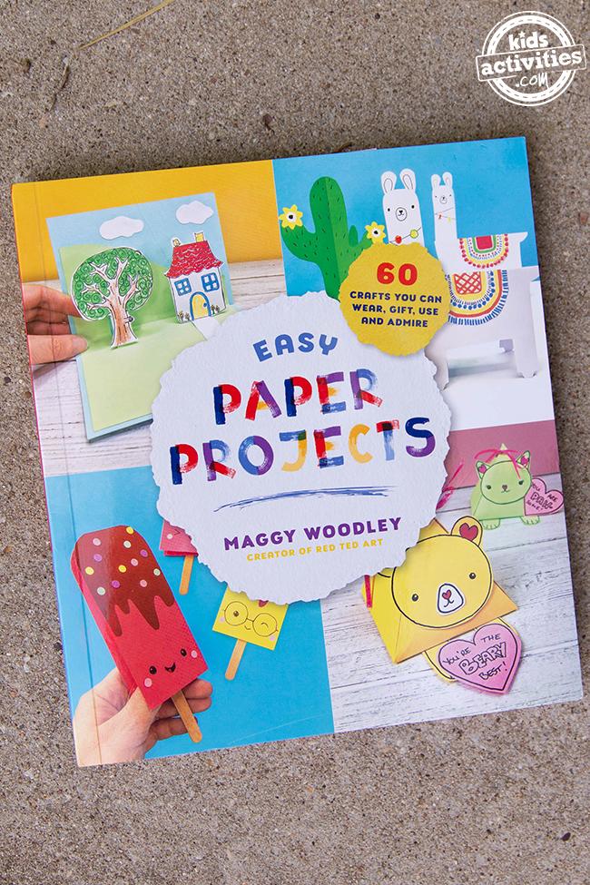 Paper Pumpkin Craft for Kids