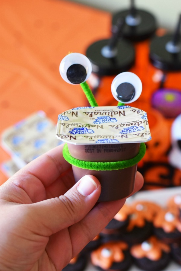 Alien Pudding Cups