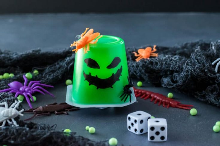 Oogie Boogie Pudding Cups