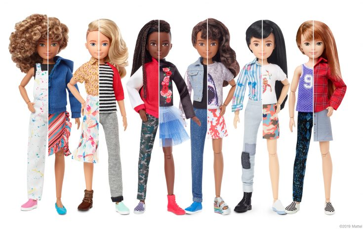 Mattel Gender Neutral Doll Collection