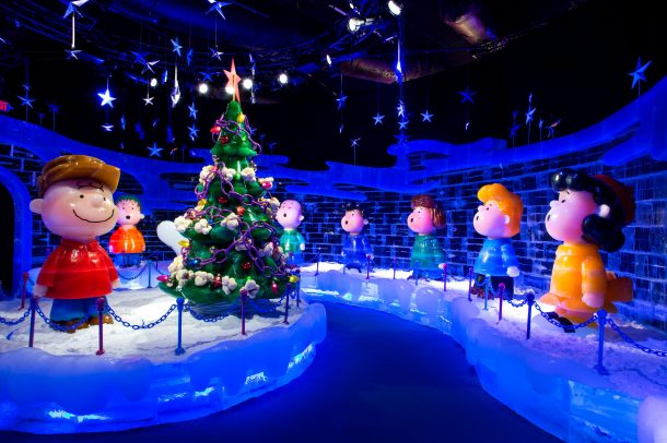 Gaylord Texan ICE 2019 A Charlie Brown Chrismtas exhibit