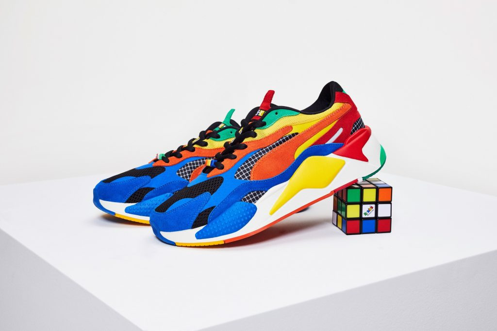 PUMA Is Releasing Rubik's Cube Inspired Shoes and They SO COOL