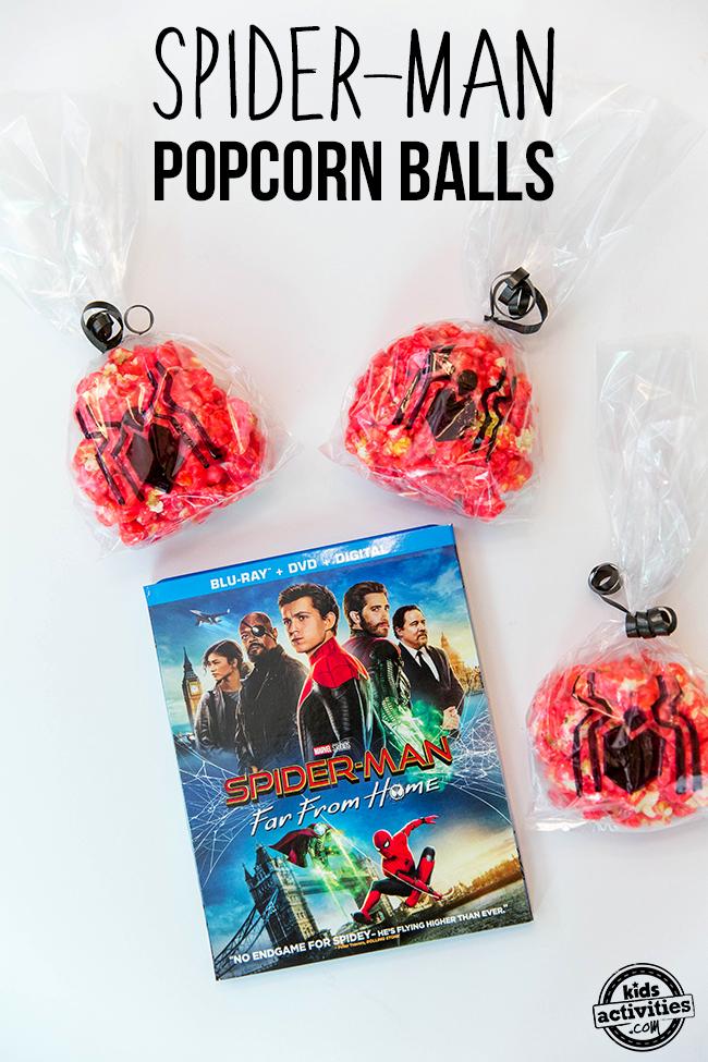 Spider-Man Popcorn Balls