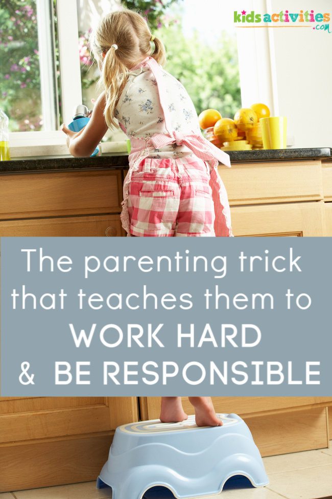 teaching a child to be responsible
