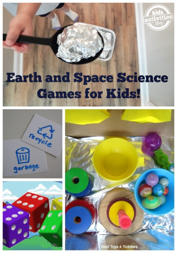 earth and space science games for kids