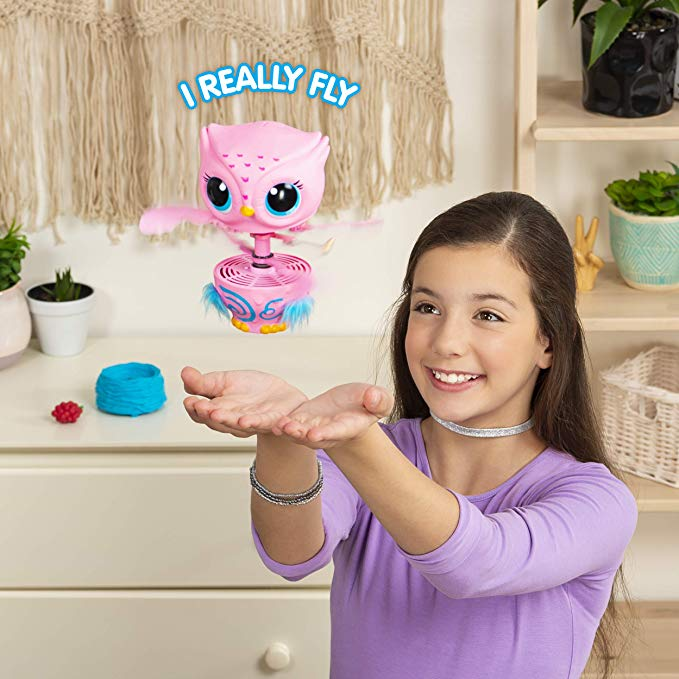 Owleez, Flying Baby Owl Interactive Toy with Lights & Sounds