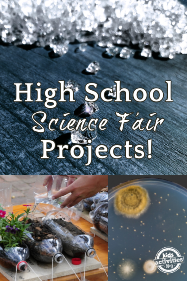 high school science fair projects