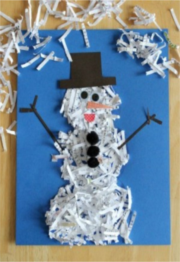 35 creative and fun snowman arts and crafts