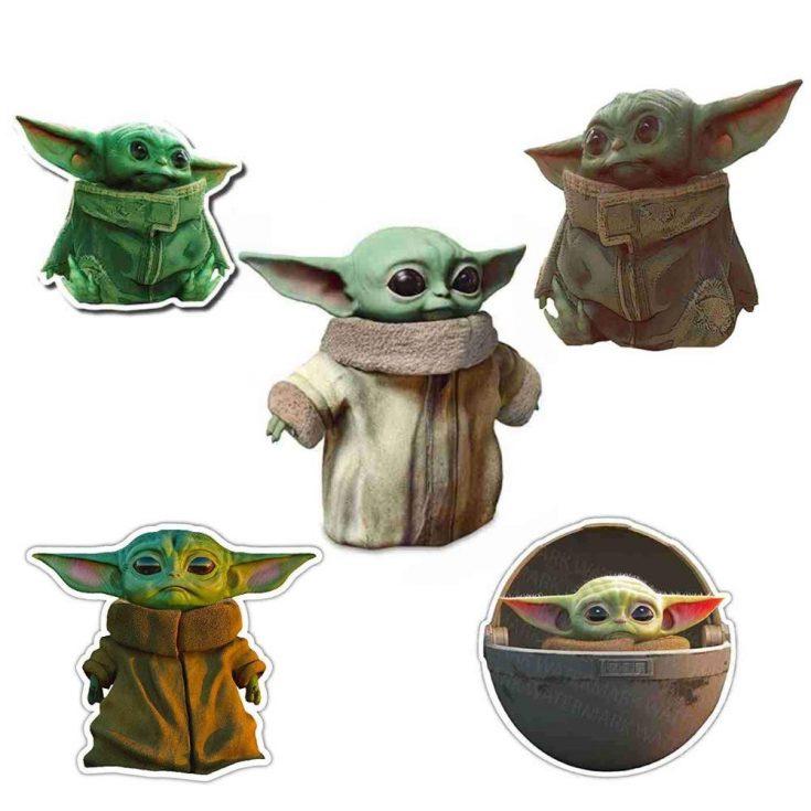 Baby Yoda Decal Vinyl Stickers
