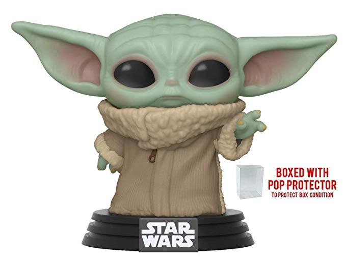 "Funko Pop! Star Wars: The Mandalorian - The Child, 10"" Super Sized Pop!"