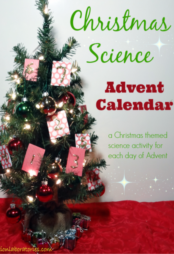 Christmas science advent activities