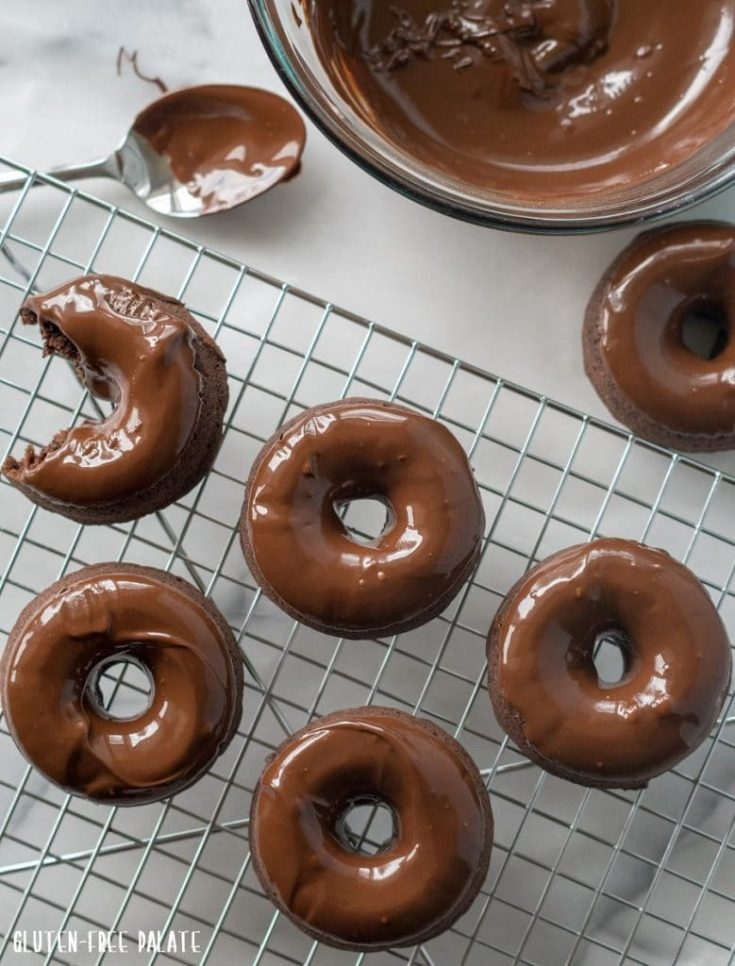 Vegan Chocolate Espresso Donuts