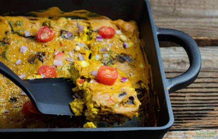 Best Vegan Quiche Casserole