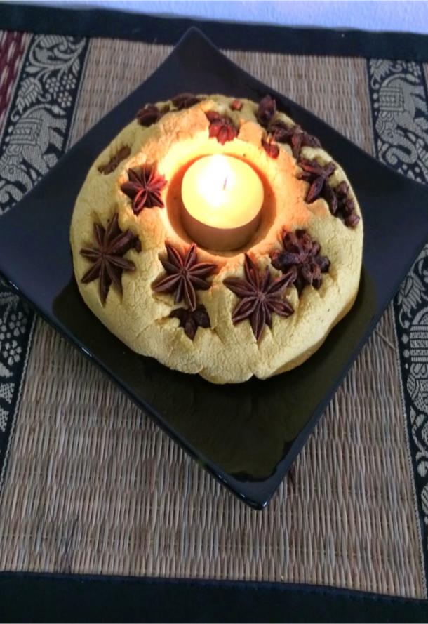 advent calendar candle holder