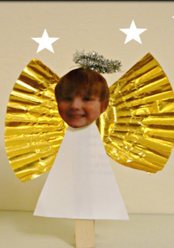 photo peg angel
