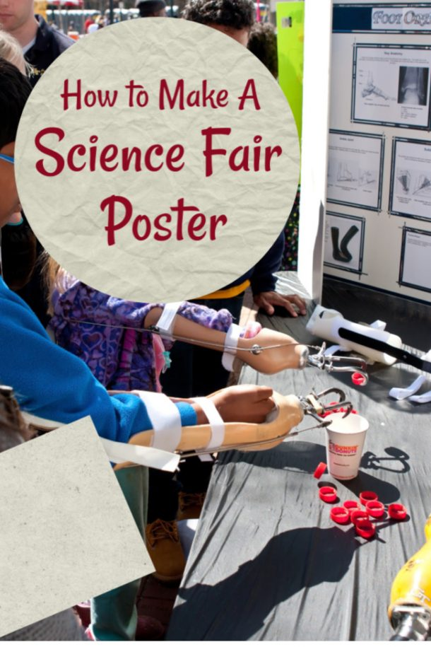 Science fair experiment and poster