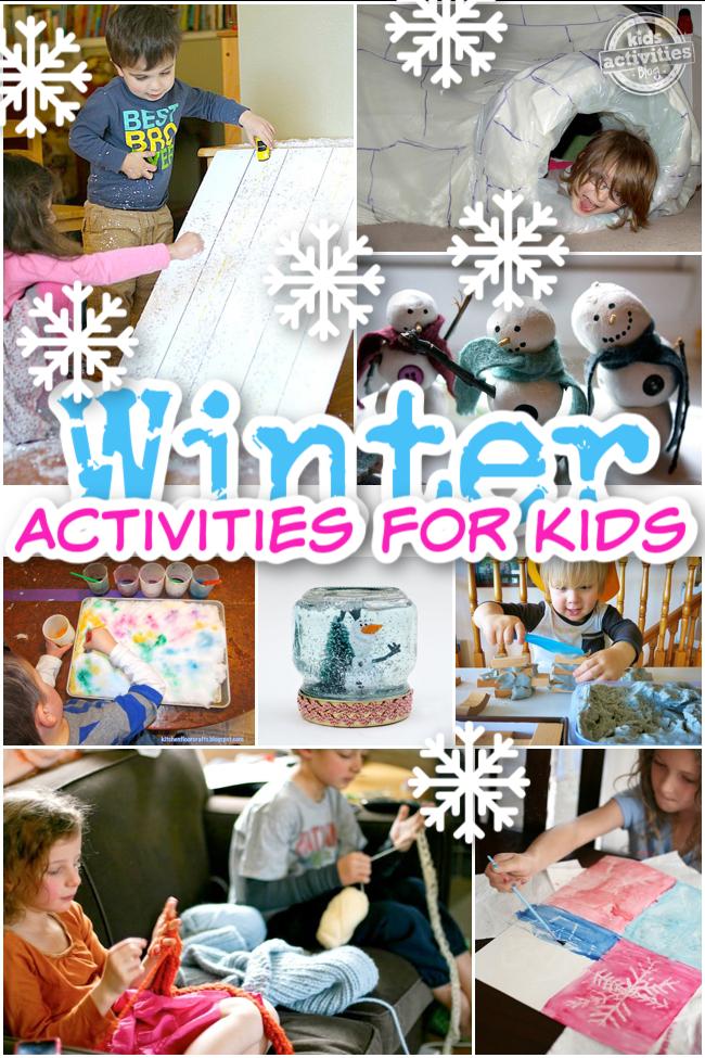 Best Winter Indoor Activities for Kids from Kids Activities Blog