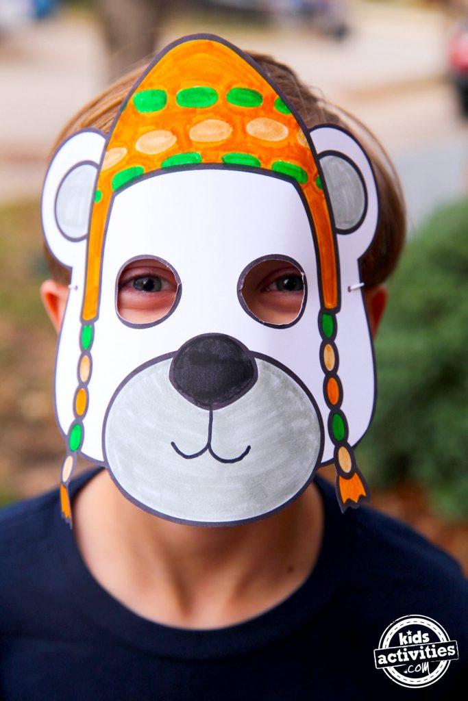 Dolittle Polar Bear Mask