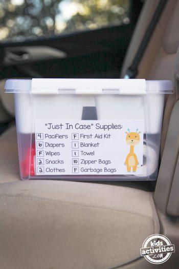 baby travel items