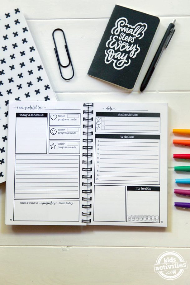 Setting Goals Like a Boss is Easy with the She Did It All Planner