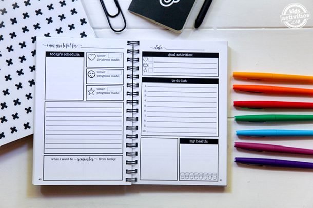 Setting Goals Like a Boss is Easy with The She Did It All Planner!