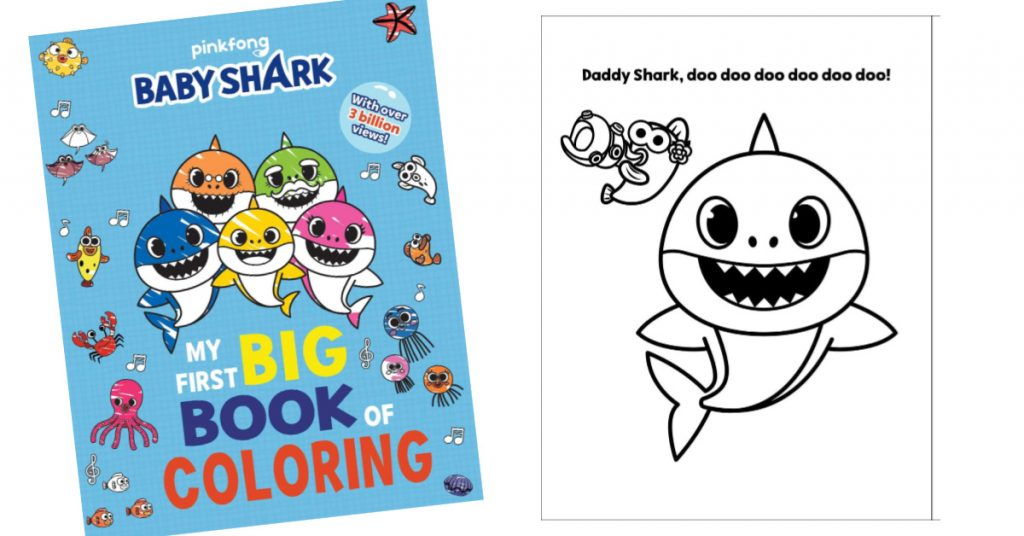 Do you kids love sharks? Baby shark coloring pages is all ...