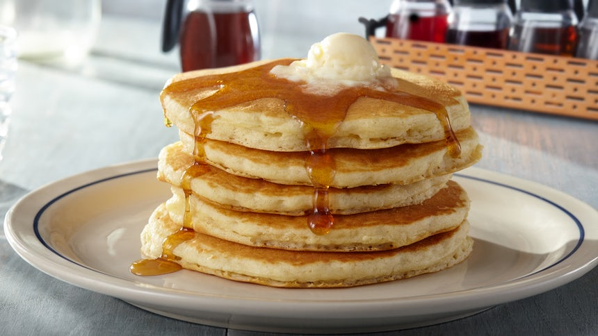 Tuesday is Free Pancake Day at IHOP