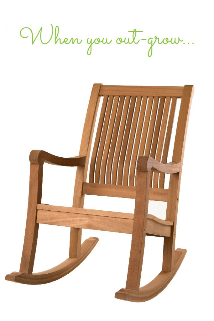 when you out-grow your rocking chair you make a rocking chair for three - Kids Activities Blog