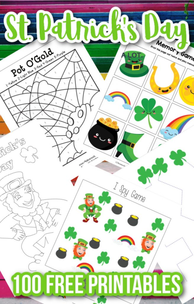 Free St Patricks Day printables for kids - Kids Activities Blog