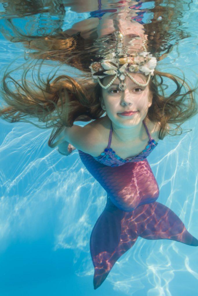 Cola de sirena nadando para niños - Blog de actividades para niños