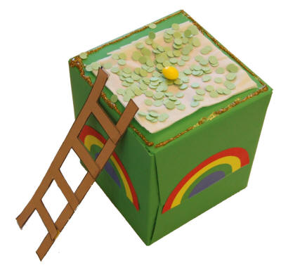 leprechaun trap printable from dltk holidays