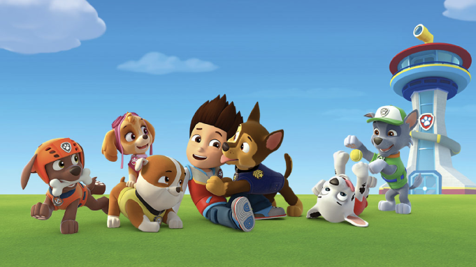 there is a 'paw patrol' movie in the works here's