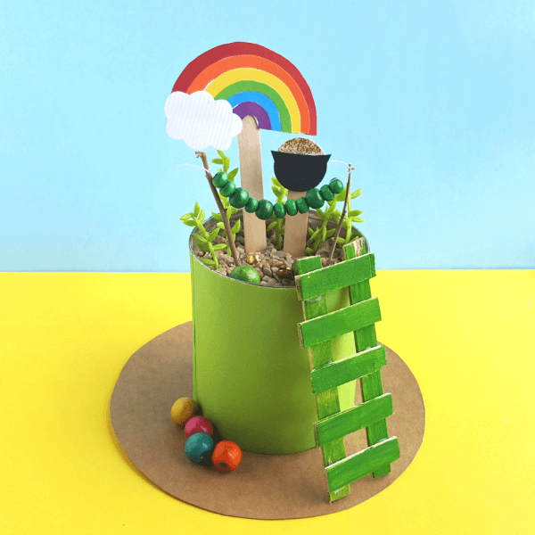 printable leprechaun trap from little bins for little hands