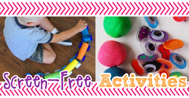 screen free activities