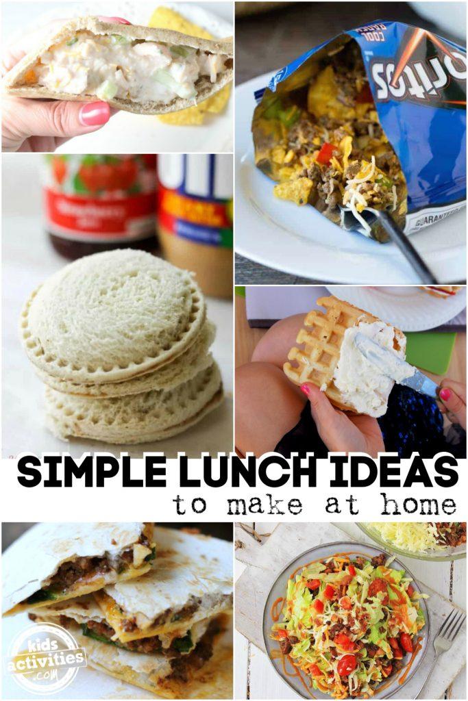 Easy Lunch Ideas