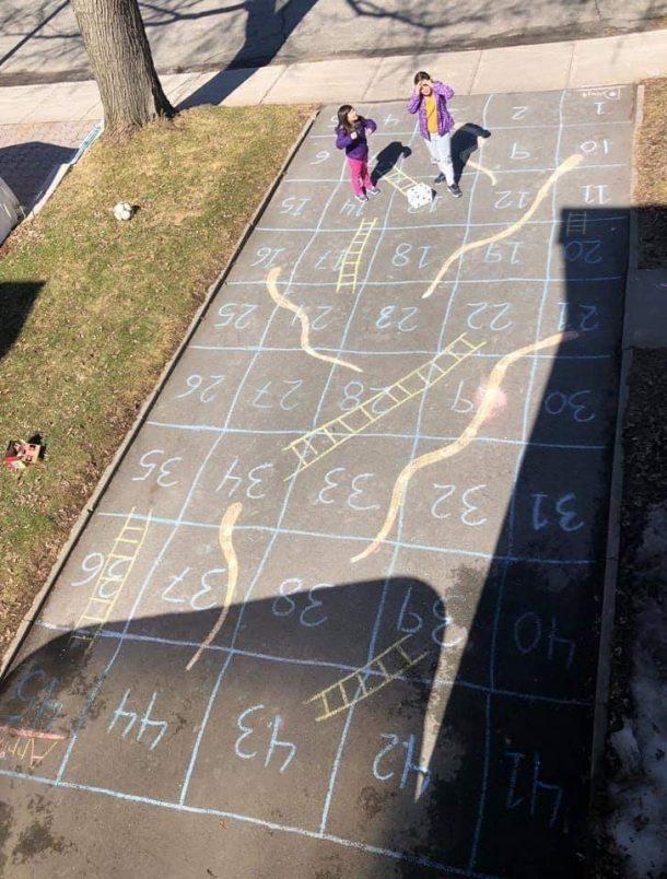 Outside board games
